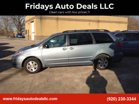 2010 Toyota Sienna for sale at Fridays Auto Deals LLC in Oshkosh WI