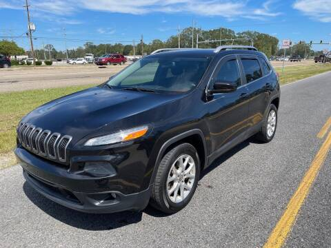 2014 Jeep Cherokee for sale at Double K Auto Sales in Baton Rouge LA
