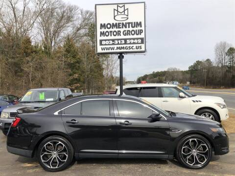 2013 Ford Taurus for sale at Momentum Motor Group in Lancaster SC