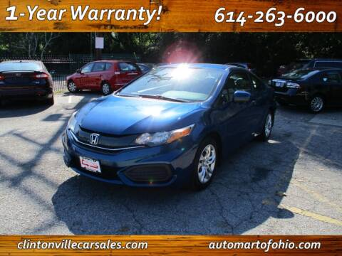2015 Honda Civic for sale at Clintonville Car Sales - AutoMart of Ohio in Columbus OH