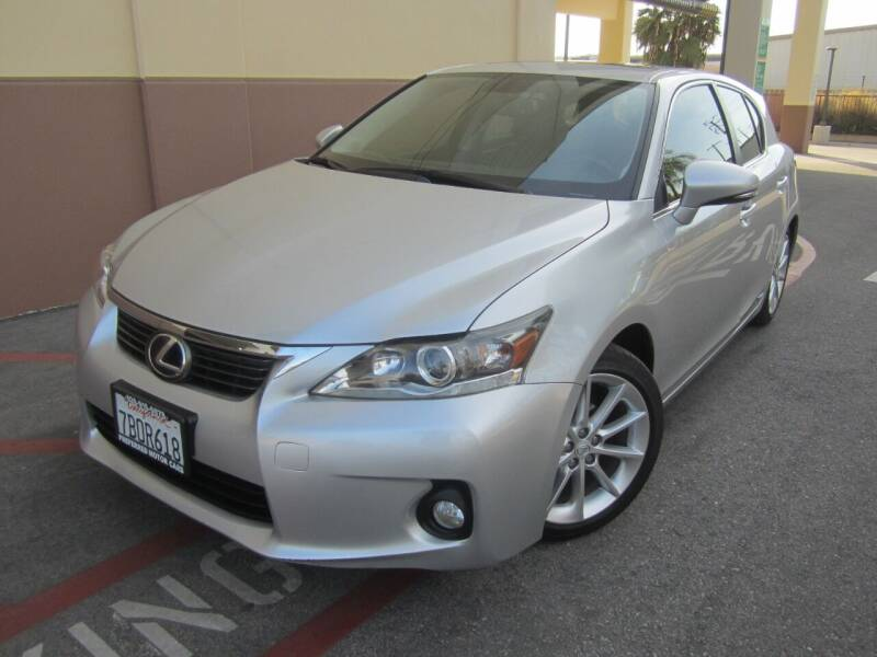 2013 Lexus CT 200h for sale at PREFERRED MOTOR CARS in Covina CA