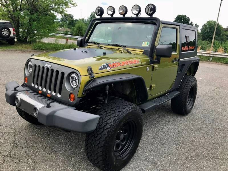 2010 Jeep Wrangler for sale at Mid Atlantic Truck Center in Alexandria VA