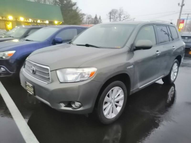 2010 Toyota Highlander Hybrid for sale at KRIS RADIO QUALITY KARS INC in Mansfield OH