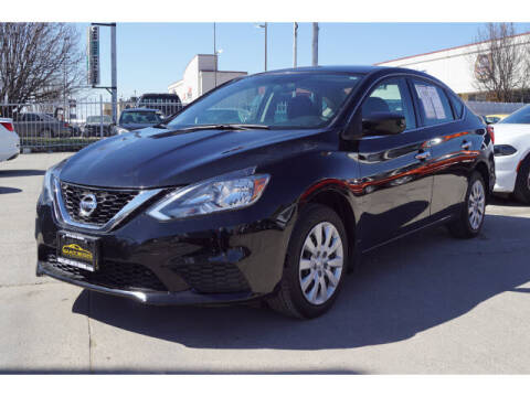 2017 Nissan Sentra for sale at Credit Connection Sales in Fort Worth TX