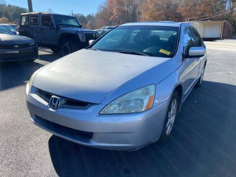2005 Honda Accord for sale at Luxury Auto Innovations in Flowery Branch GA