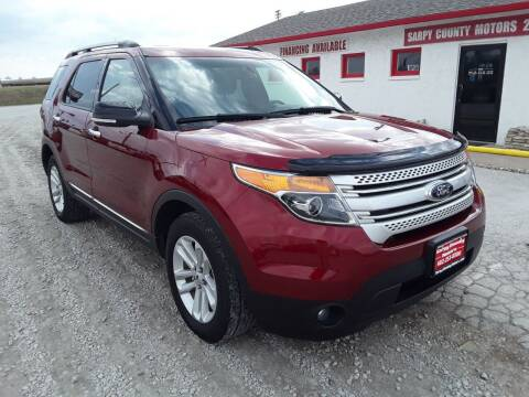 2013 Ford Explorer for sale at Sarpy County Motors in Springfield NE