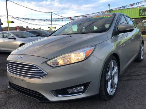 2015 Ford Focus for sale at 1st Quality Motors LLC in Gallup NM
