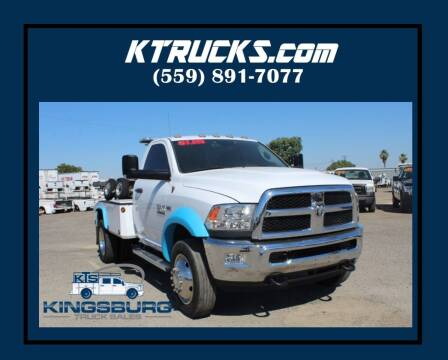 2017 RAM 4500 Chassis Cab for sale at Kingsburg Truck Center in Kingsburg CA