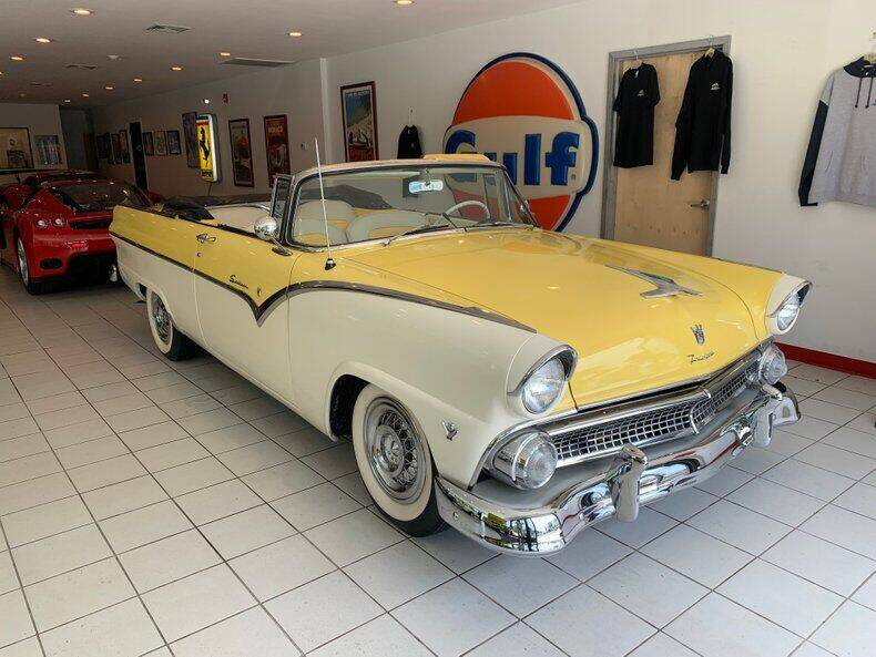 1955 Ford Sunliner for sale in Auburn, MA