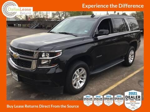 2017 Chevrolet Tahoe for sale at Dallas Auto Finance in Dallas TX