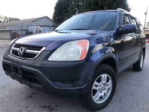 2003 Honda CR-V for sale at CAR STOP INC in Duluth GA
