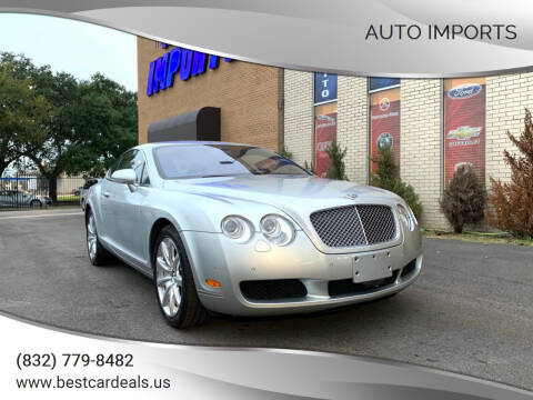 2004 Bentley Continental for sale at Auto Imports in Houston TX