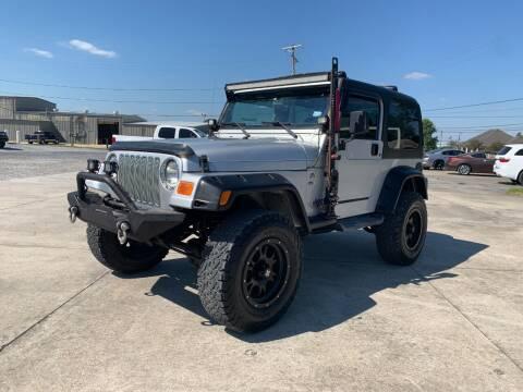2002 Jeep Wrangler for sale at Auto Associates in Breaux Bridge LA
