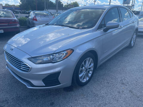 2019 Ford Fusion Hybrid for sale at 5 STAR MOTORS 1 & 2 in Louisville KY