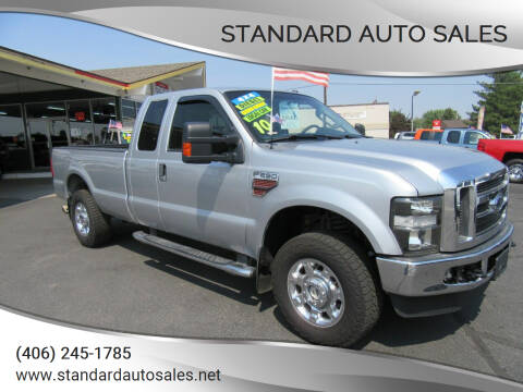 2010 Ford F-250 Super Duty for sale at Standard Auto Sales in Billings MT
