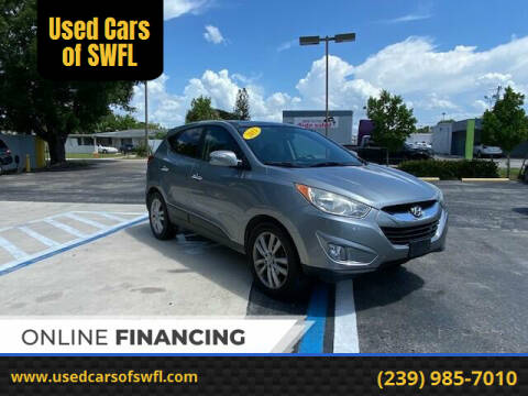 2011 Hyundai Tucson for sale at Used Cars of SWFL in Fort Myers FL