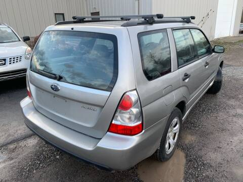 2007 Subaru Forester for sale at Trocci's Auto Sales in West Pittsburg PA