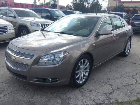 2008 Chevrolet Malibu for sale at SKYLINE AUTO in Detroit MI