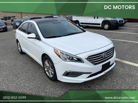 2015 Hyundai Sonata for sale at DC Motors in Springfield VA