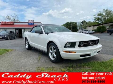 2007 Ford Mustang for sale at CADDY SHACK CARS in Edgewater MD