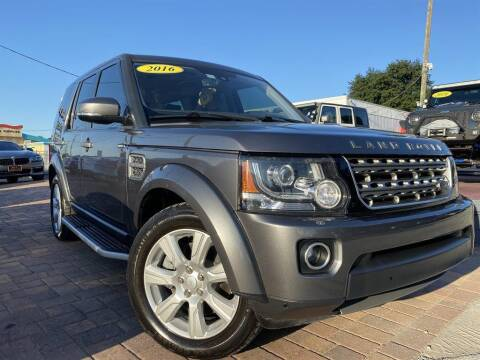 2016 Land Rover LR4 for sale at Cars of Tampa in Tampa FL