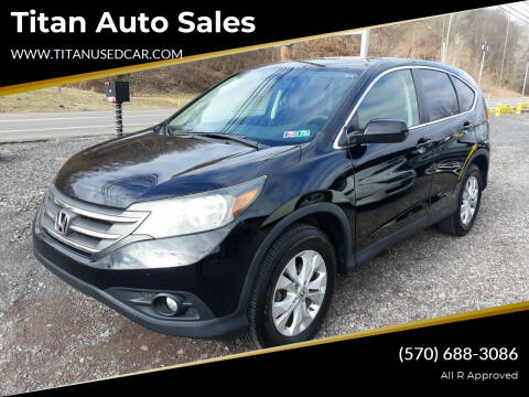 2013 Honda CR-V for sale at Titan Auto Sales in Berwick PA