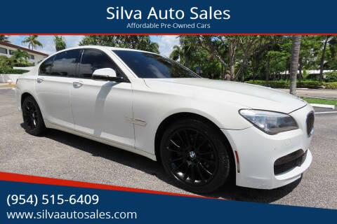 2014 BMW 7 Series for sale at Silva Auto Sales in Pompano Beach FL