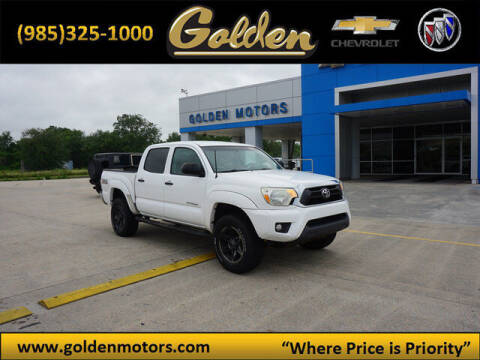 2013 Toyota Tacoma for sale at GOLDEN MOTORS in Cut Off LA