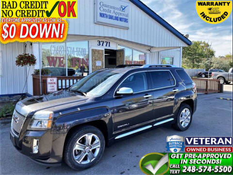 2014 GMC Terrain for sale at North Oakland Motors in Waterford MI