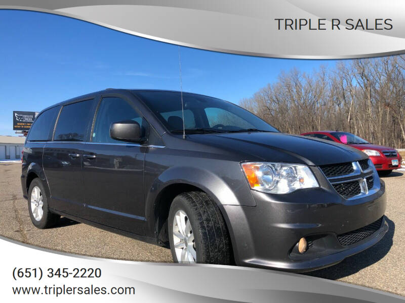 2019 Dodge Grand Caravan for sale at Triple R Sales in Lake City MN