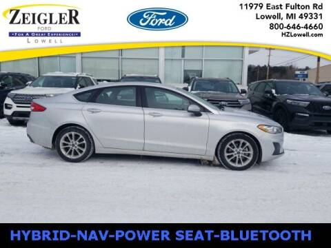 2019 Ford Fusion Hybrid for sale at Zeigler Ford of Plainwell- Jeff Bishop in Plainwell MI
