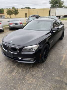 2015 BMW 7 Series for sale at SUN AUTOMOTIVE in Greensboro NC