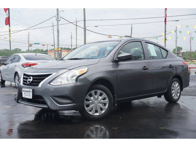 2017 Nissan Versa for sale at Maroney Auto Sales in Humble TX