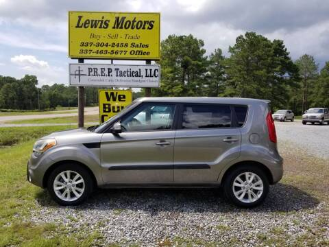 2013 Kia Soul for sale at Lewis Motors LLC in Deridder LA