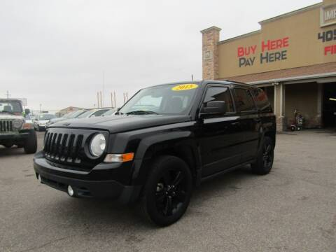 2015 Jeep Patriot for sale at Import Motors in Bethany OK