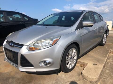 2012 Ford Focus for sale at Wolff Auto Sales in Clarksville TN