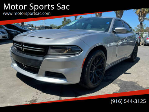 2015 Dodge Charger for sale at Motor Sports Sac in Sacramento CA