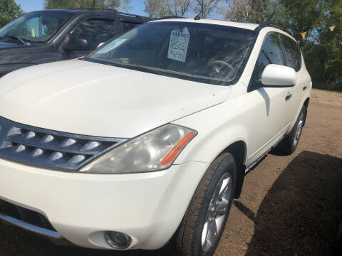 2007 Nissan Murano for sale at BARNES AUTO SALES in Mandan ND