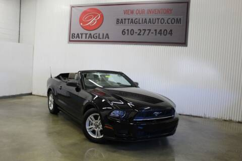 2014 Ford Mustang for sale at Battaglia Auto Sales in Plymouth Meeting PA
