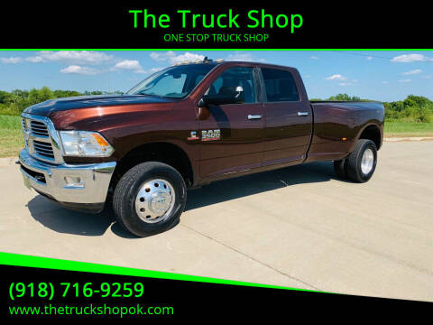 2015 RAM Ram Pickup 3500 for sale at The Truck Shop in Okemah OK