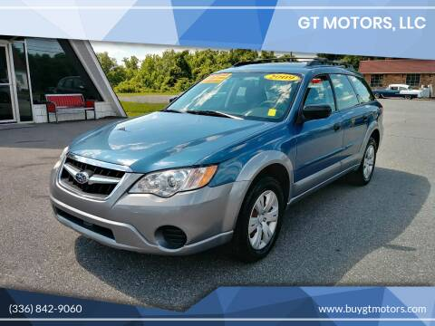 2009 Subaru Outback for sale at GT Motors, LLC in Elkin NC