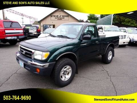 1999 Toyota Tacoma for sale at Steve & Sons Auto Sales in Happy Valley OR