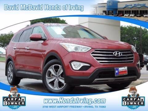 2014 Hyundai Santa Fe for sale at DAVID McDAVID HONDA OF IRVING in Irving TX