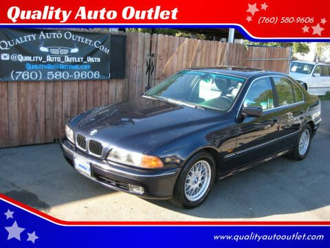 2000 BMW 5 Series for sale at Quality Auto Outlet in Vista CA
