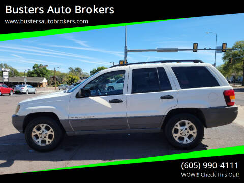 2002 Jeep Grand Cherokee for sale at Busters Auto Brokers in Mitchell SD