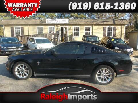 2010 Ford Mustang for sale at Raleigh Imports in Raleigh NC