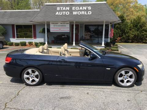 2009 BMW 3 Series for sale at STAN EGAN'S AUTO WORLD, INC. in Greer SC