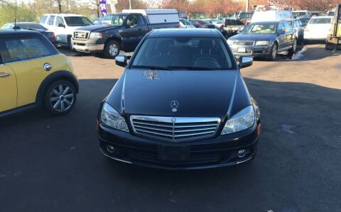 2009 Mercedes-Benz C-Class for sale at Vuolo Auto Sales in North Haven CT