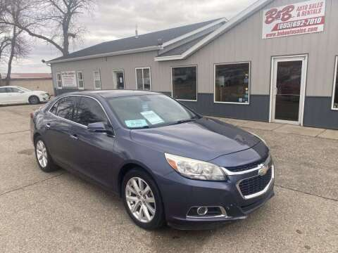 2015 Chevrolet Malibu for sale at B & B Auto Sales in Brookings SD