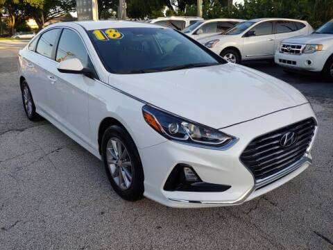 2018 Hyundai Sonata for sale at Brascar Auto Sales in Pompano Beach FL